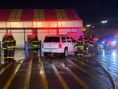 12/30/2019 Car Fire Wal Mart