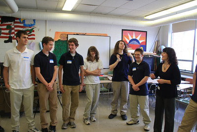 InterPlay, Improv, German Class, Tamaqua High School, Tamaqua (11-11-2011)