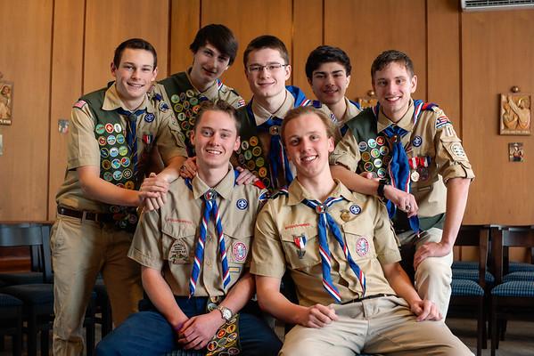 2015 Eagle Scouts