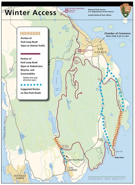 Acadia National Park (Winter Access)