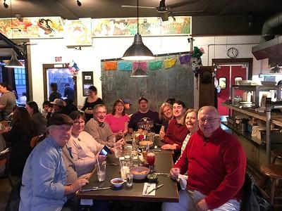 2018 January Radoll Birthday Dinner