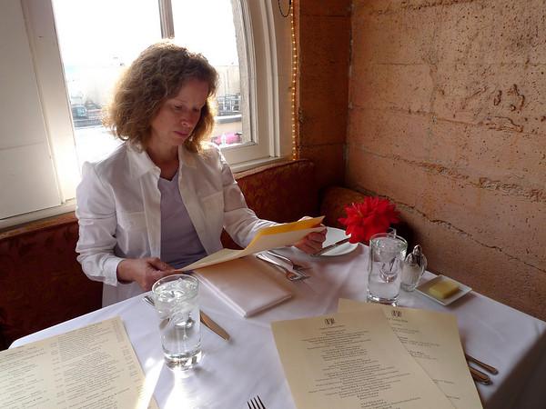 Anniversary Dinner at Chez Shea
