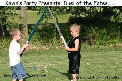 Kev's 30th (Duel of the Fates)