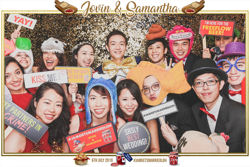 Wedding of Jovin & Samantha | © www.SRSLYPhotobooth.sg