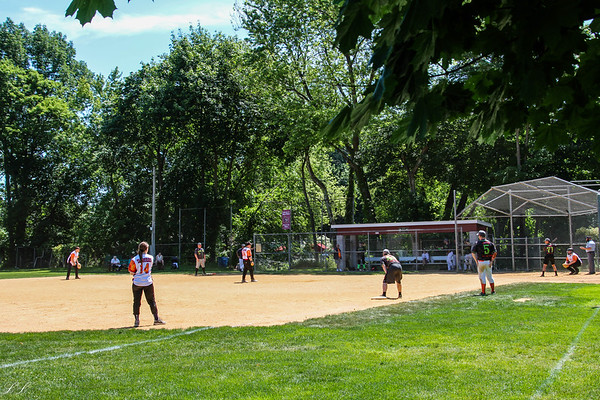 Park Ridge FD Softball vs. WoodDale 6/9/19