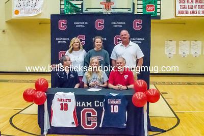 Abbi Douglas Cheatham Lady Cubs Basketball University of the Cumberland's Signing