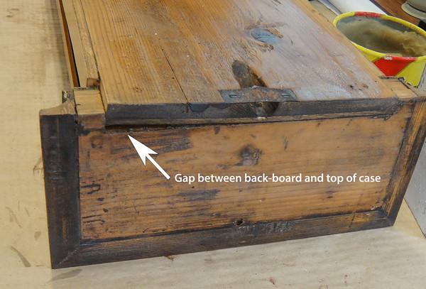 Flattening a Back Board