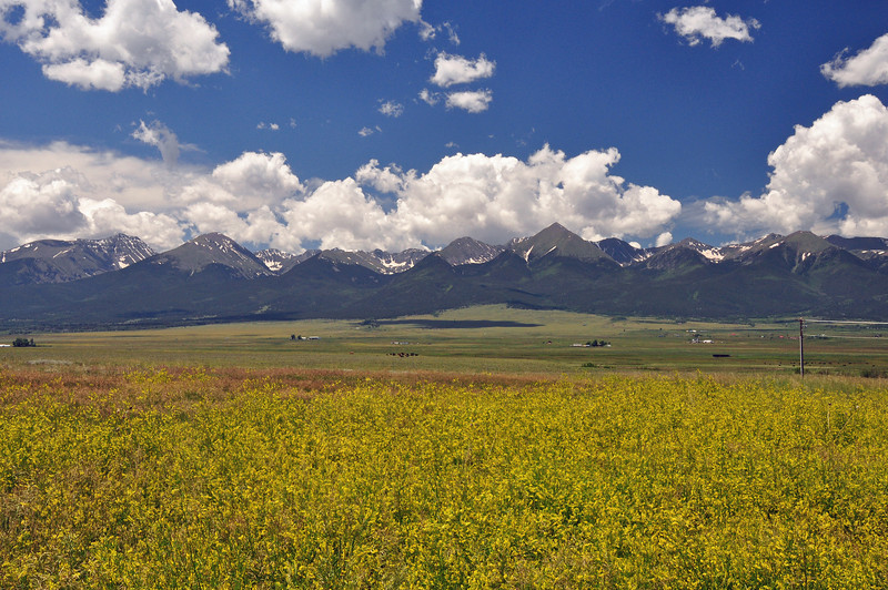 The last shot of part one of my  trip.  This is just outside of Westcliffe, CO.  From here I road to Denver and stayed with my parents.  I then stored the GS at my sister's house and flew home.  3000 miles in 12 days for the first part of my walkabout.  Phase 2 will start in a week.