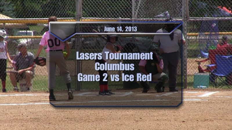 Lasers Tournament Game 2 vs Ice Red
