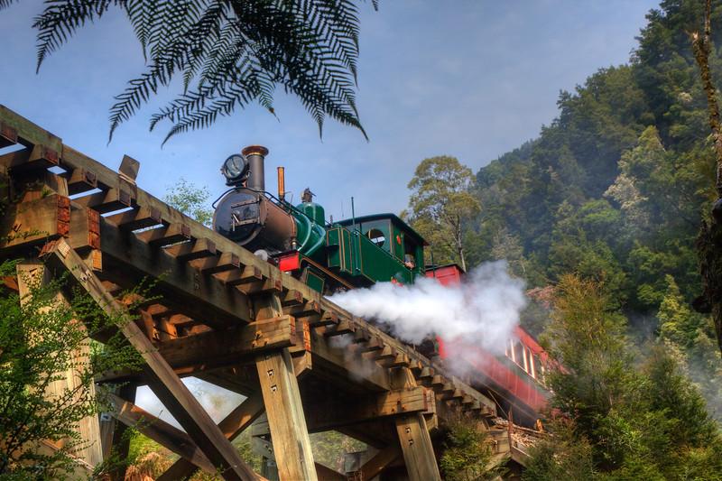 West Coast Wilderness Railway, Tasmania.