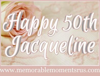 Jacqueline's Birthday