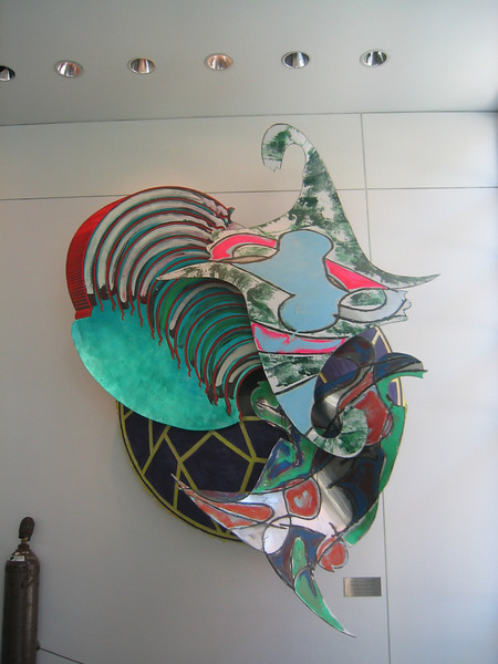 Heads or Tails by Frank Stella. M.I.T. Campus