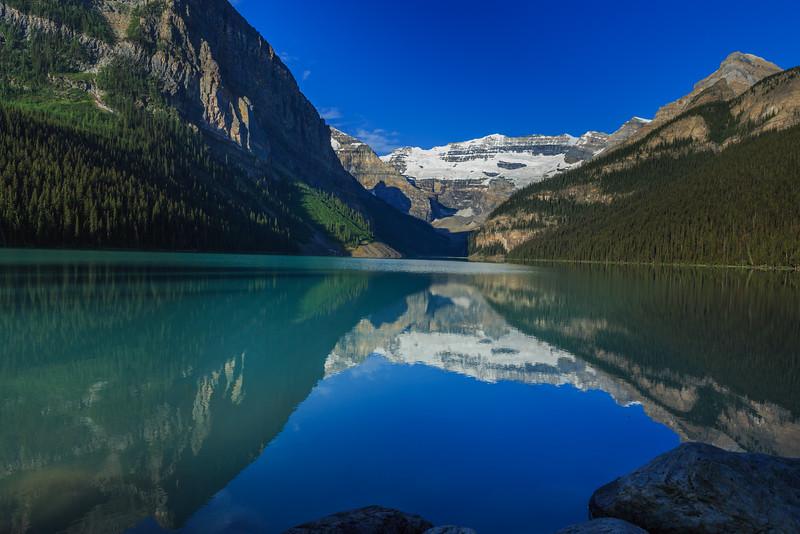 lake and reflection