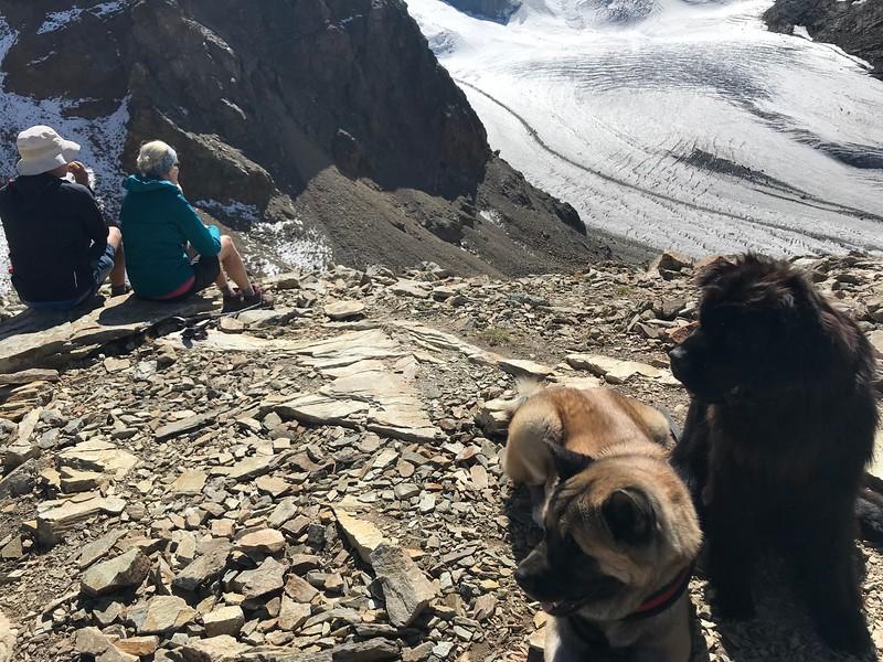 Sheldon & Sheri enjoying the view