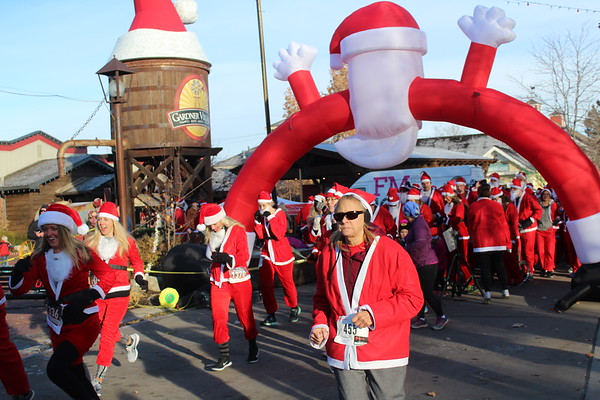 2018 Gardner Village Santa Run