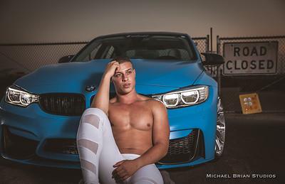 Damon and the BMW