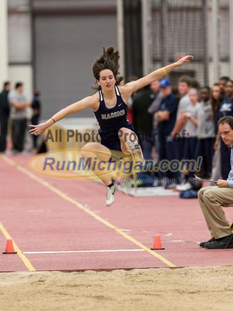 Long Jump - 2013 CMU Open Indoor Track Meet