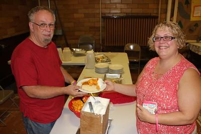 Peach and Ice Cream Social, Zion Lutheran Church, Tamaqua (8-27-2014)