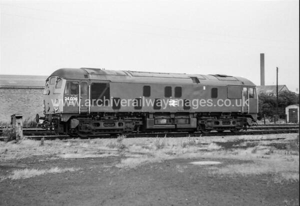 Class 24 Diesel Locomotives