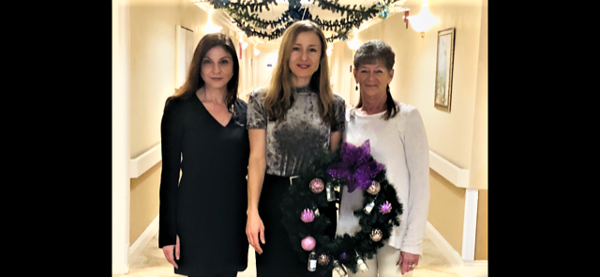 Newington Rapid Recovery Rehab Center Wreath Festival 2019