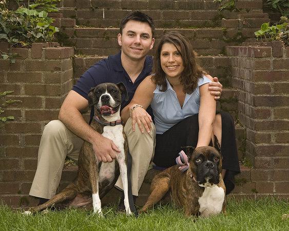 "Kelly & Louis ""Family Portrait"""