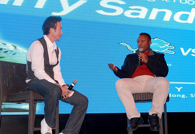 2012 Monday Night Football with Barry Sanders