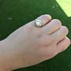 1.02ct Round Brilliant Diamond Bezel Ring 21