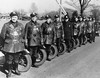 Motorcycle officers in 1930-40's