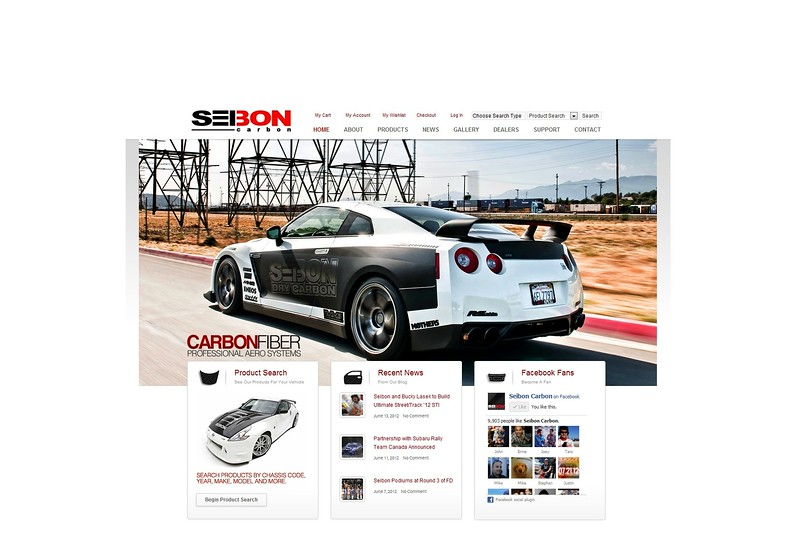 Seibon Carbon Launches New Web Site