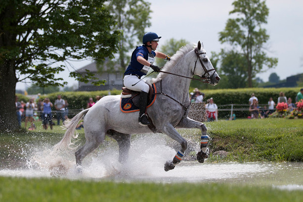 Rolex 3 day event 2012, X country