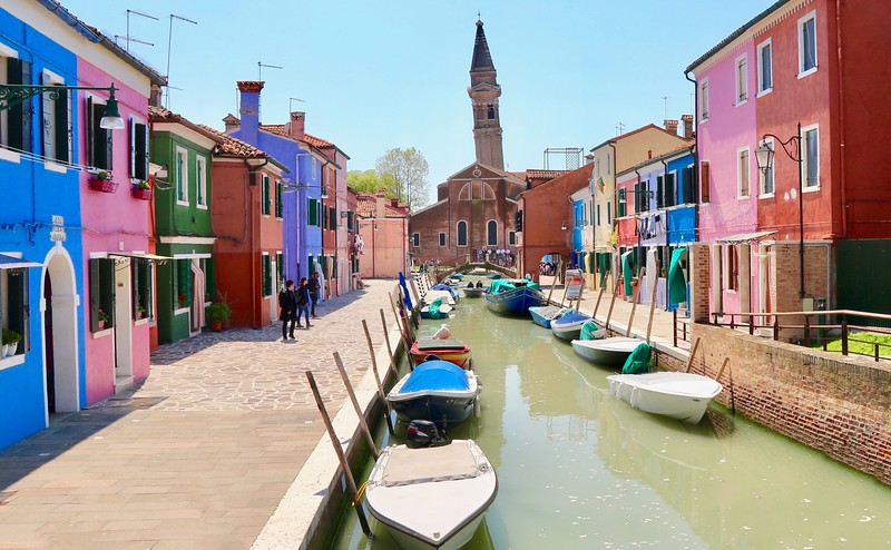 Burano's Leaning Bell Tower