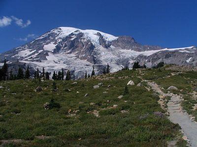 Mount Rainier and surroundings, August 13-20, 2005