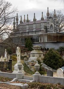 Mt. Auburn Cemetery, December 2018
