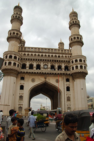 Golconda Fort & Charminar in Hyderabad, India 2006