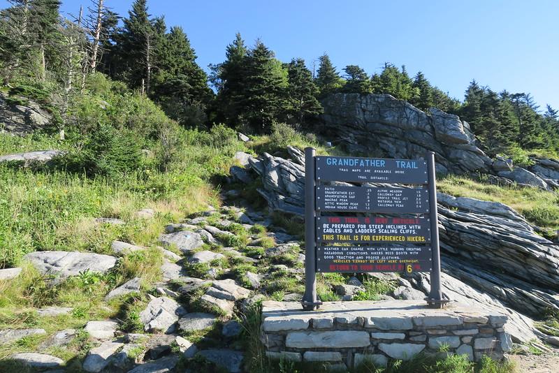 Swinging Bridge Trailhead -- 5,250'