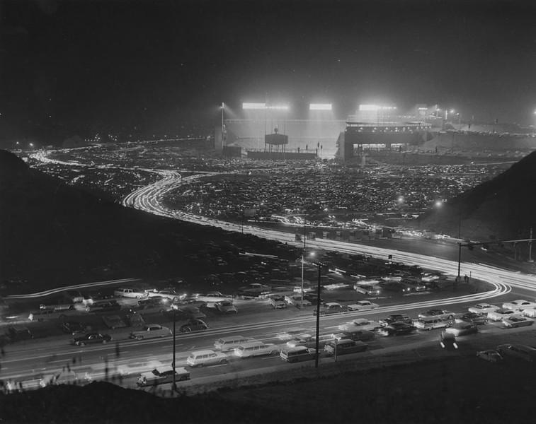 1962, Stadium at night