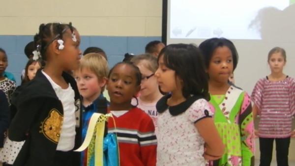 1st Grade video 3, Nov. 2013