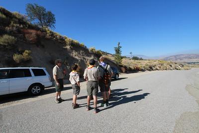 10/18/2014 ~ 10/19/2014 San Andreas Fault Visit