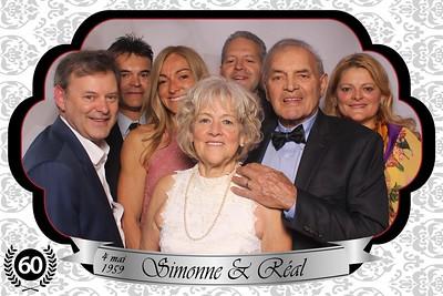 18 mai 2019 - 60e anniversaire mariage SImonne & Réal
