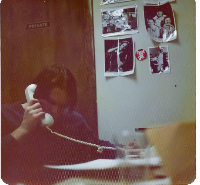 1976 Jim working for Alderman Ed Vrdolyak as Assistant Manager of the 10th Ward Democratic Club Chicago, Ill