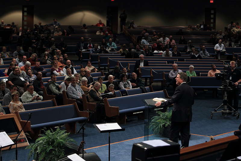 """Jim Shaddix, """"Endurance"""" speaks at First Baptist Church's 25th Annual Pastors' Conference"""