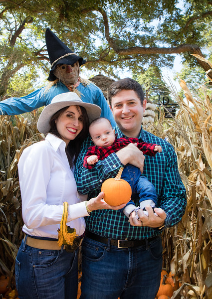 Ethan in the Pumpkin Patch