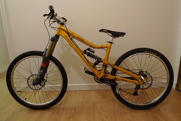 Maya's new bike