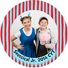 Ryley and savanah Seusical PhotoButtons