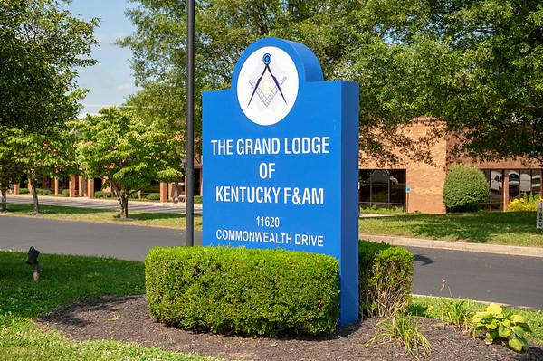 Grand Lodge Building Dedication