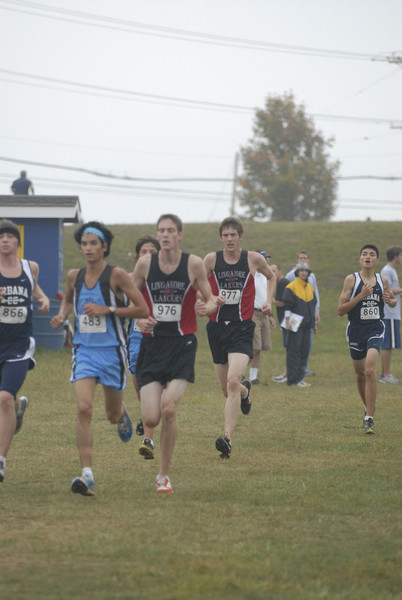 MVAL Cross Country Championship - Linganore High School Boys