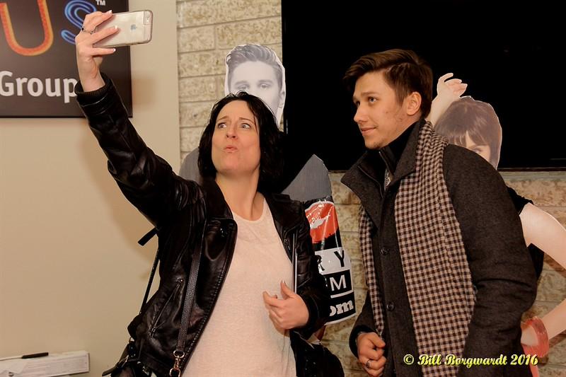 Tera Lee, Cache Entertainment with Jesse Mast at 103.9 CISN - Edmonton 145