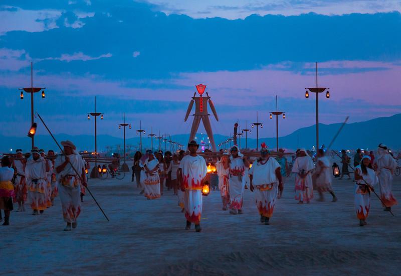 Lighting Ceremony  |  Burning Man