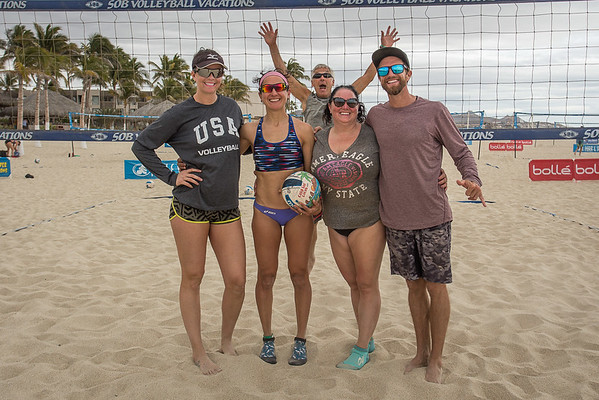 Private Pro Game: Anya & Jen with Ledoux & Tramblie
