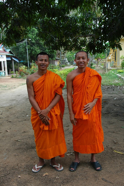 Buddhist Monks - Battambang, Cambodia